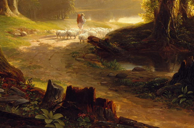 Asher_Durand_-_The_Beeches 3