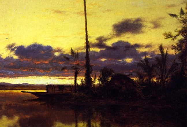 Louis Mignot - Lagoon of the Guayaquil, 1857-63 2