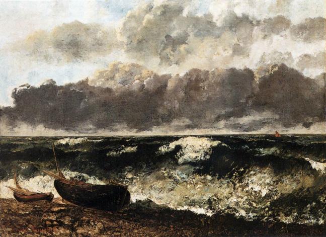 Courbet_1870_Stormy-Sea
