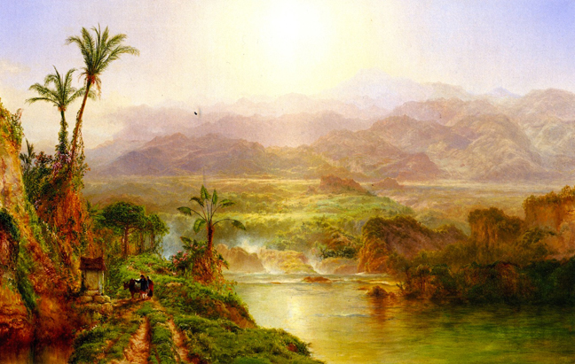 Louis Mignot - morning in the andes