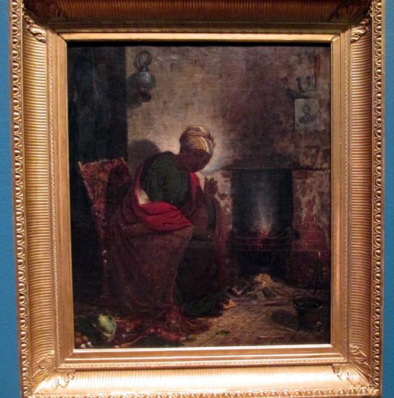 Thomas Satterwhite Noble - The Present, 1865
