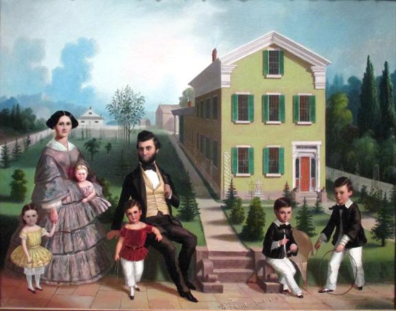 Frederick E. Cohen - Bentley Simons Runyan Family, ca 1857