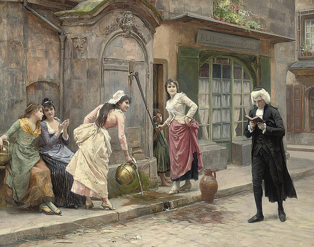 Jules Girardet - A Distraction from Studies (no date).jpg
