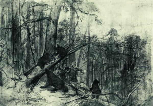 Утро в осеннем лесу (по мотивам :))) 1986