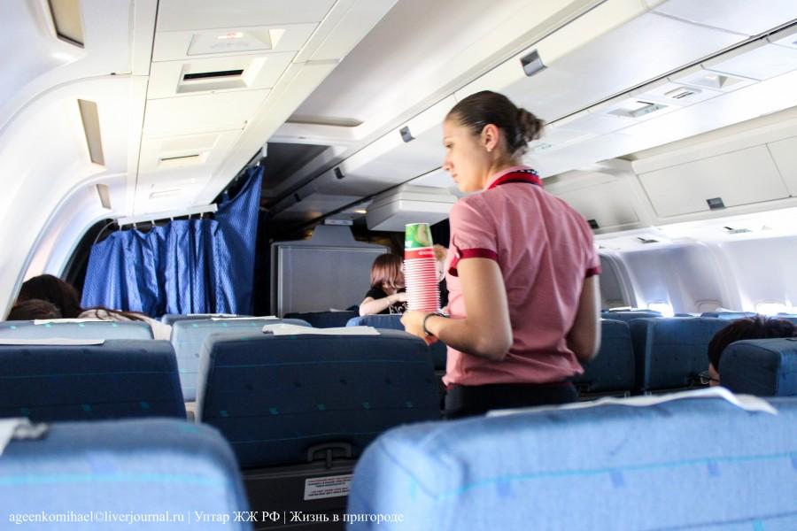 Бортпроводница авиакомпании Трансаэро