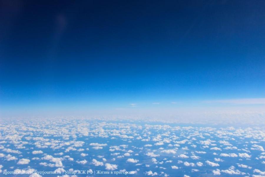 Очень много облачков (2 фото)