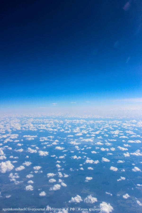 Очень много облачков