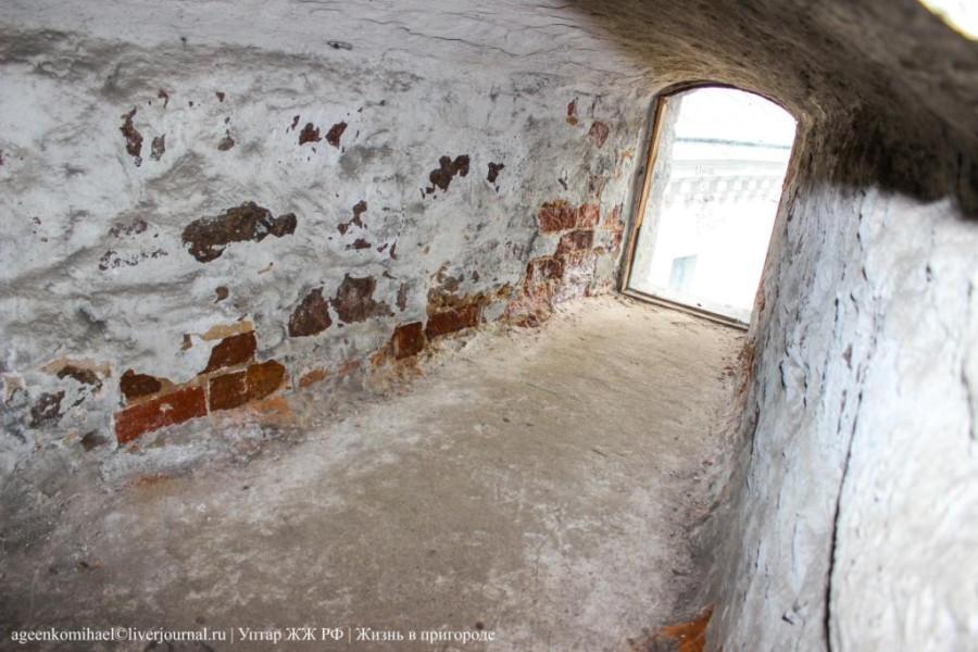 60. Какая толстая стена в башне св. Олофа_