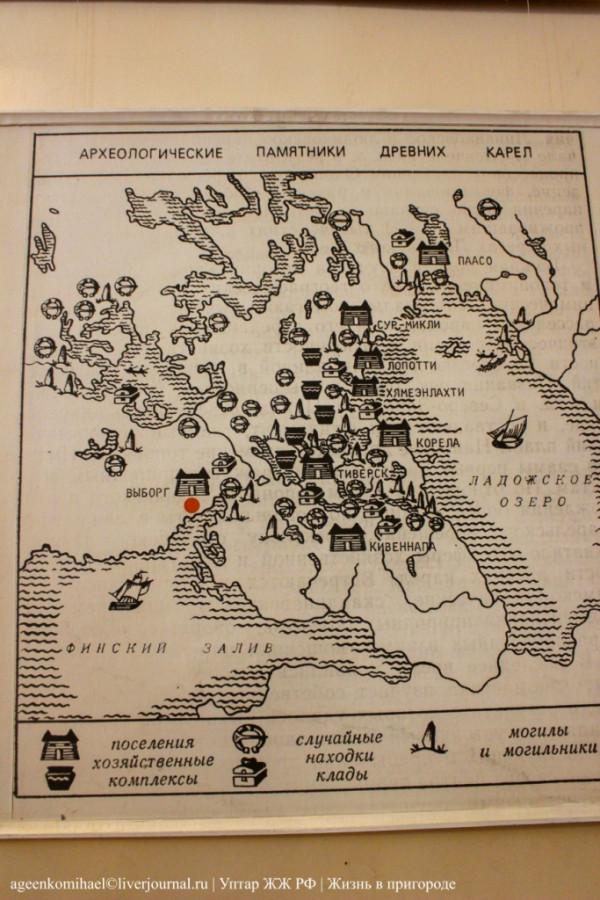 62. Археологические памятники древних карел