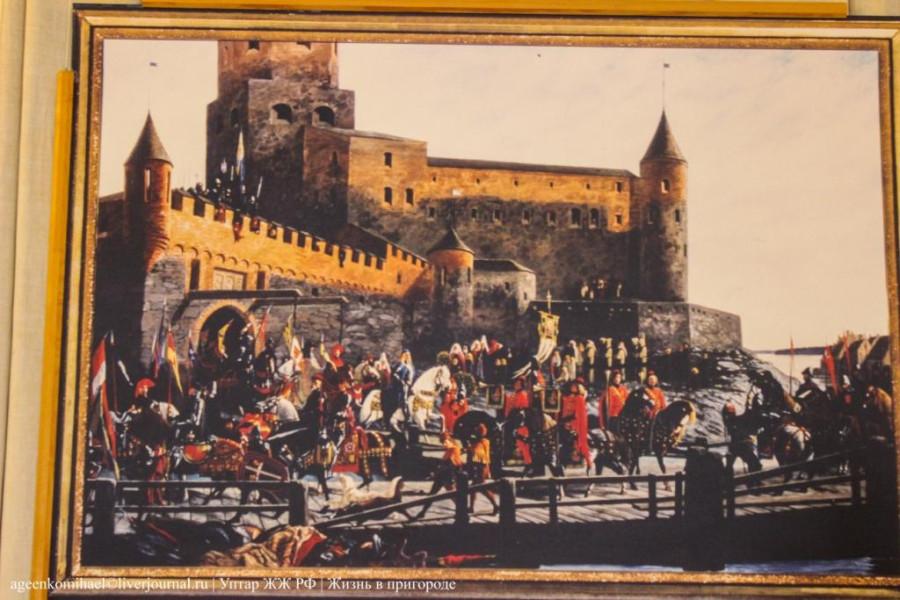 63. Картина Выборгский замок