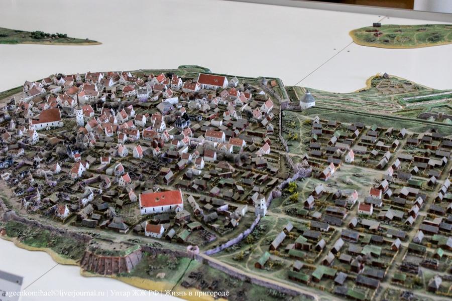 71. Модель города Выборг (2)