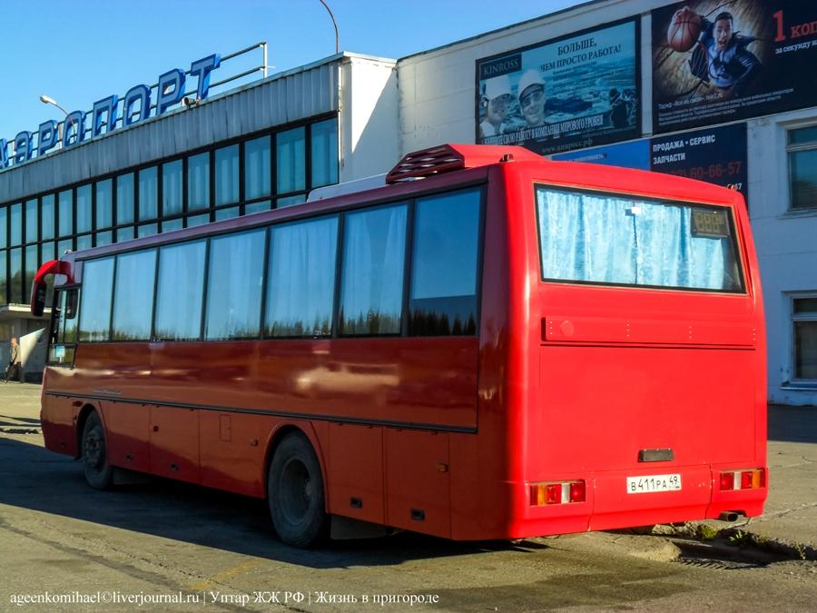 автобус №101 в Магадан (2)
