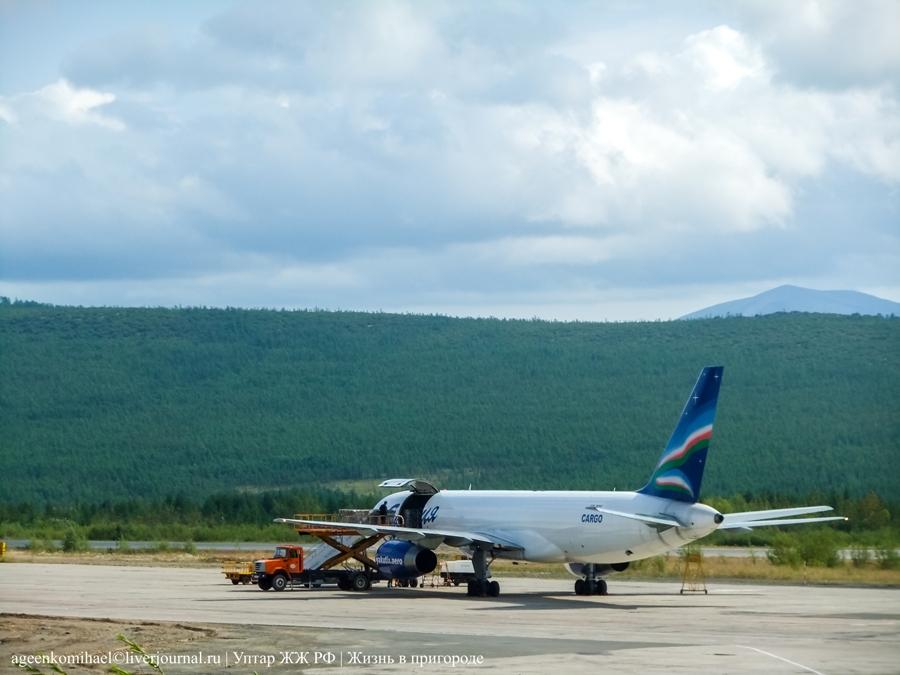грузовой Boeing 757-200 а-к Якутия (2)