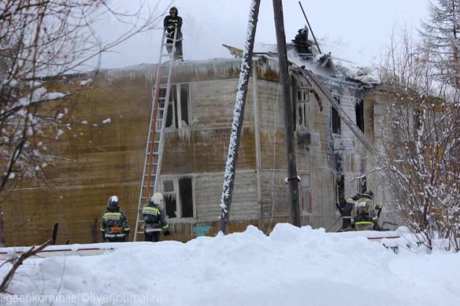 сгоревший дом 2