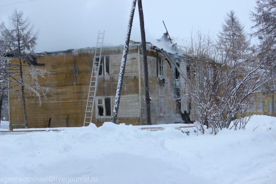 сгоревший дом 1
