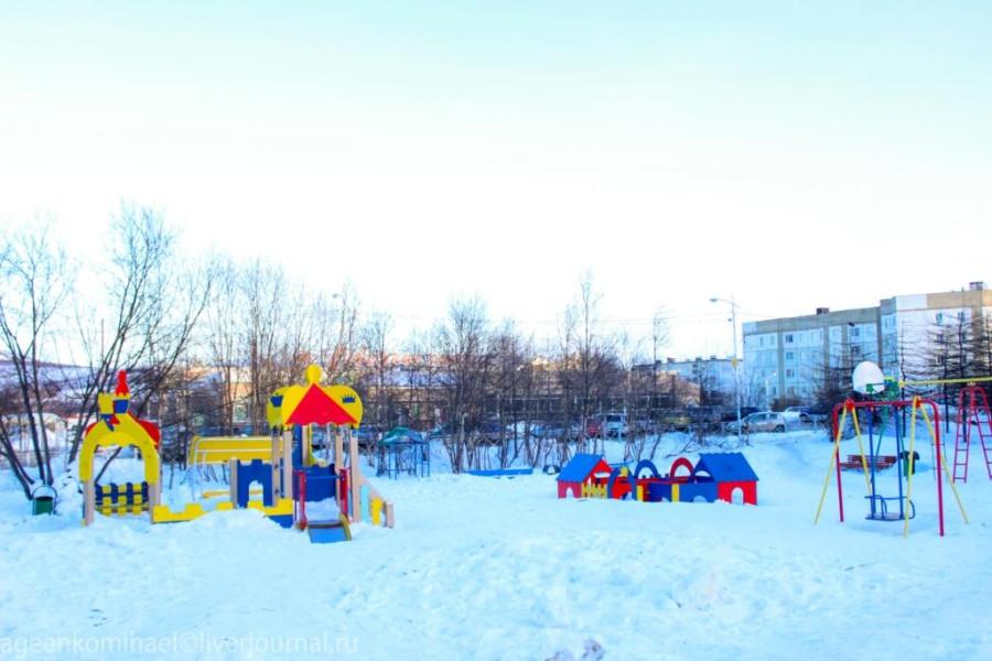 детский городок в сквере им.Болдырева