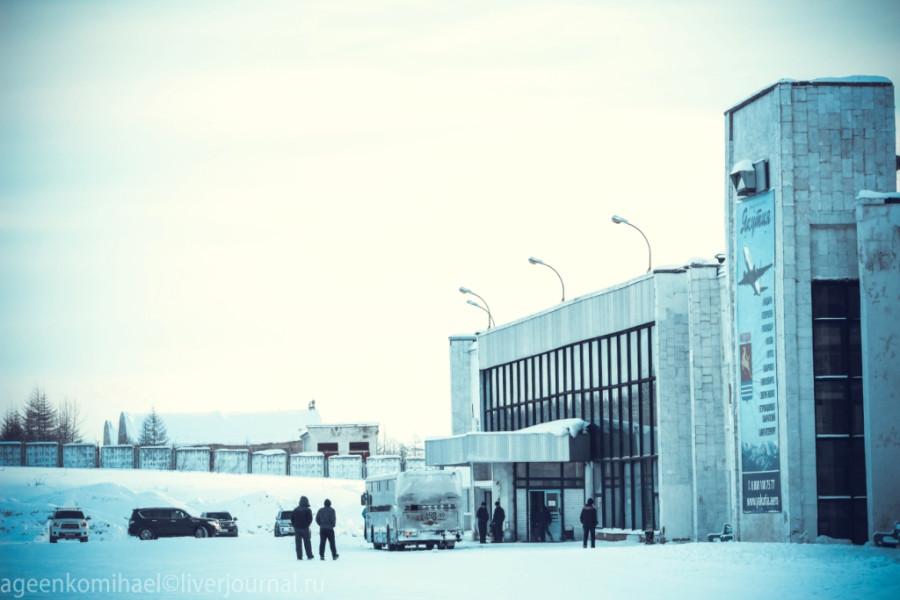 аэропорт Сокол, второй вход_
