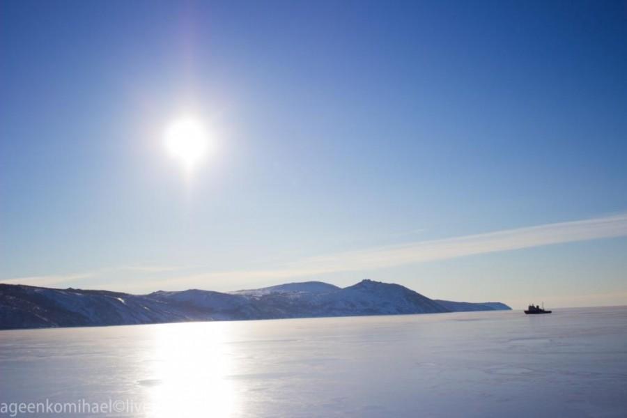 Бухта Нагаево зима 2013-14 (1 фото)