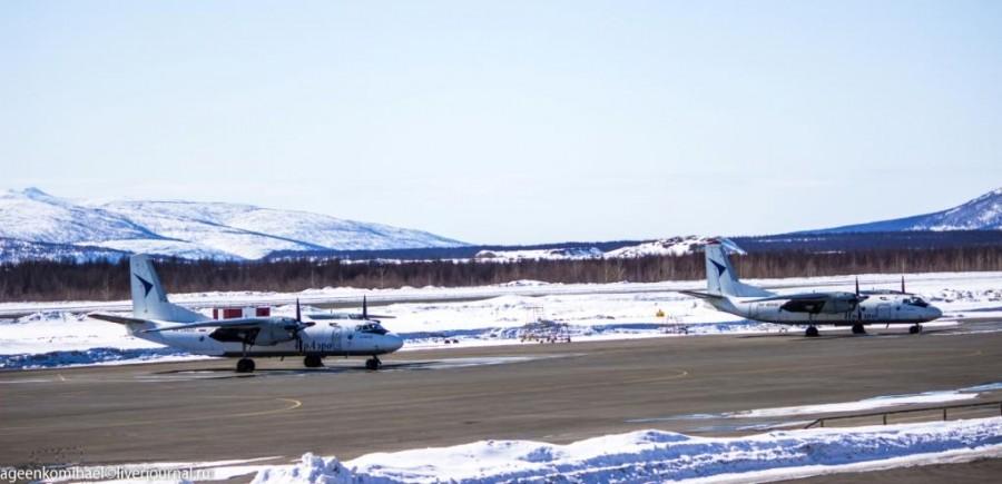 Винтовые самолеты авиакомпании ИрАэро