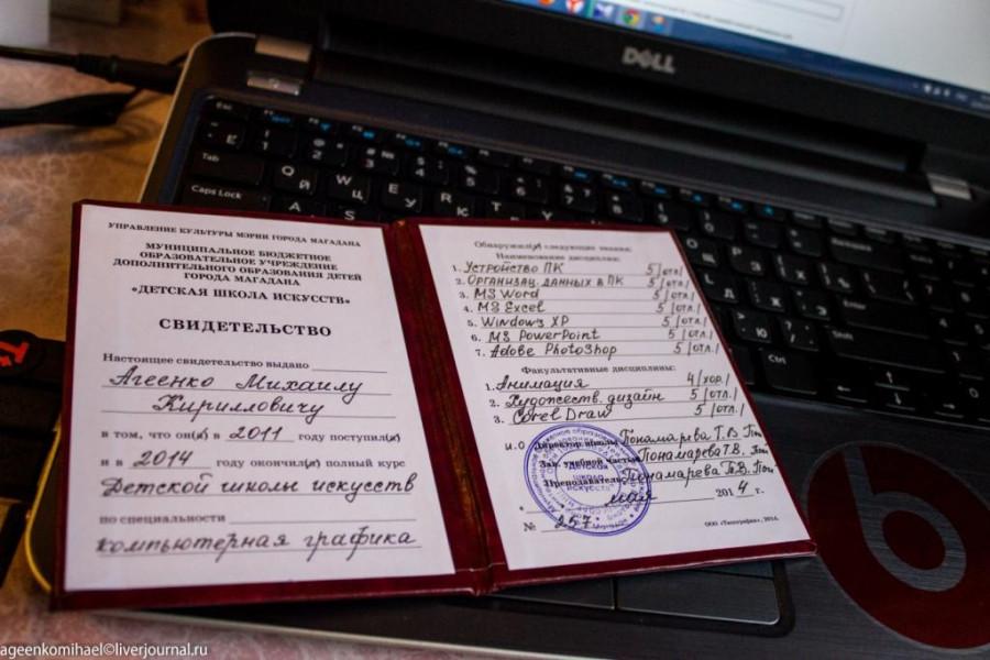 Оценки в дипломе по компьютерной графике