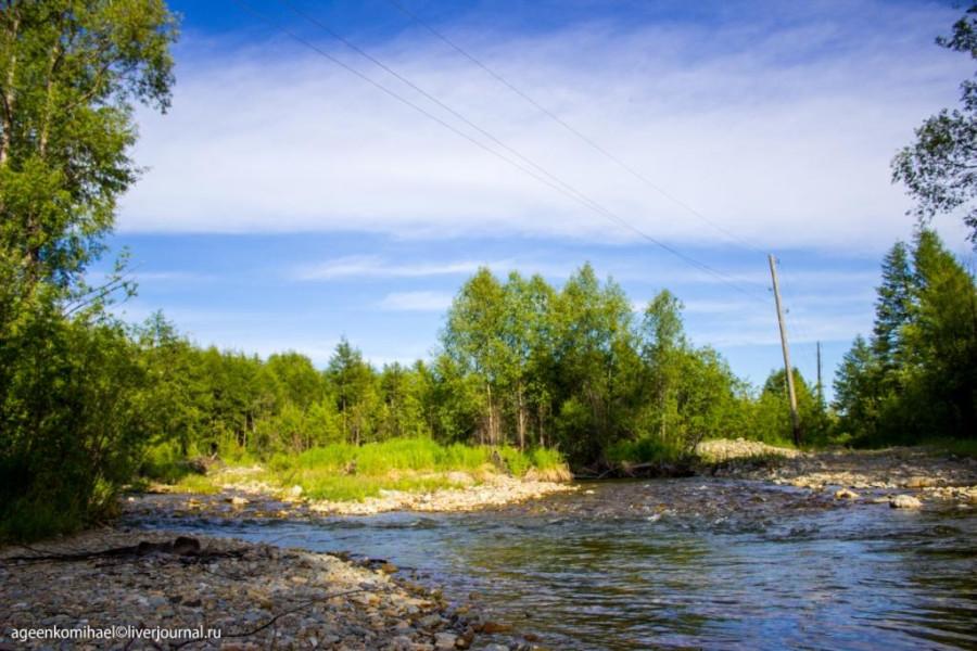 речка Уптарка (2 фото)