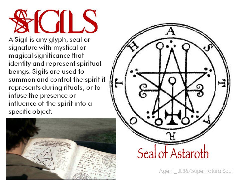 Sigils Supernatural Symbols
