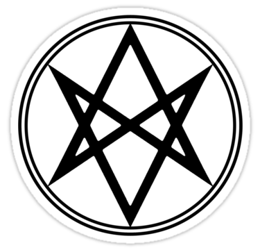 man of letters meaning unicursal hexagram aka the of letters symbol 39575