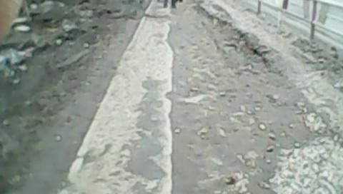 лом 17 тротуар