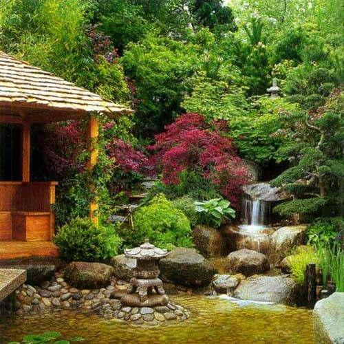 Как сделать японский сад своими руками