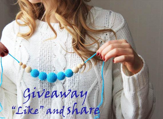 Giveaway nursing necklace