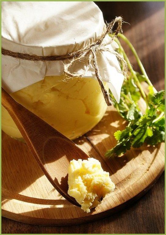 Масло топленое с фото