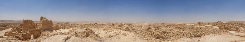 Панорама любимых набатейских развалин. Мицпе Шифта