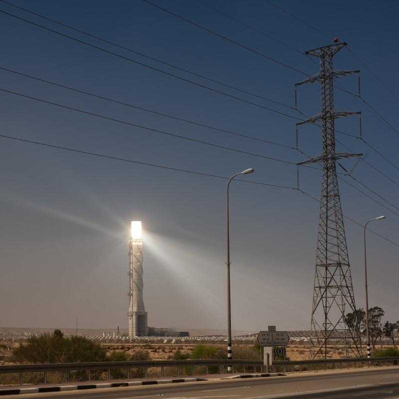 Солнечная электростанция Ашалим. Локация, которую я хочу - не могу.