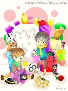 MassuShige's Birthday
