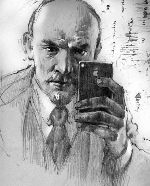 Lenin and iPhone