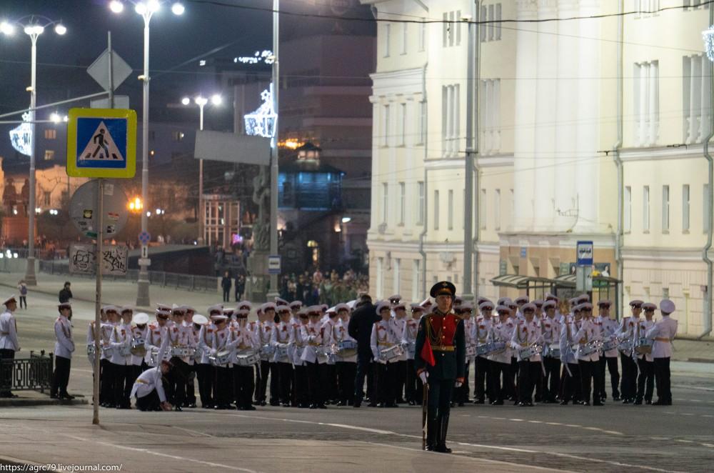 Генеральная репетиция Парада Победы,Екатеринбург,7 мая