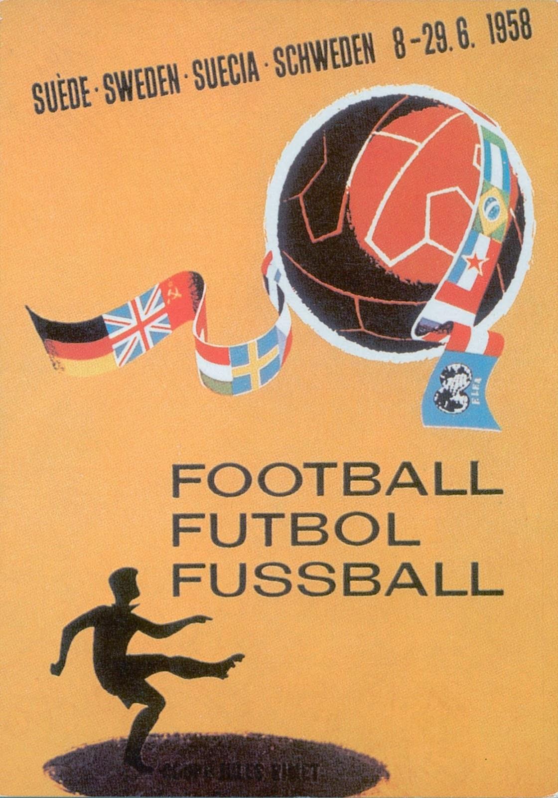 постеры чемпионатов мира по футболу