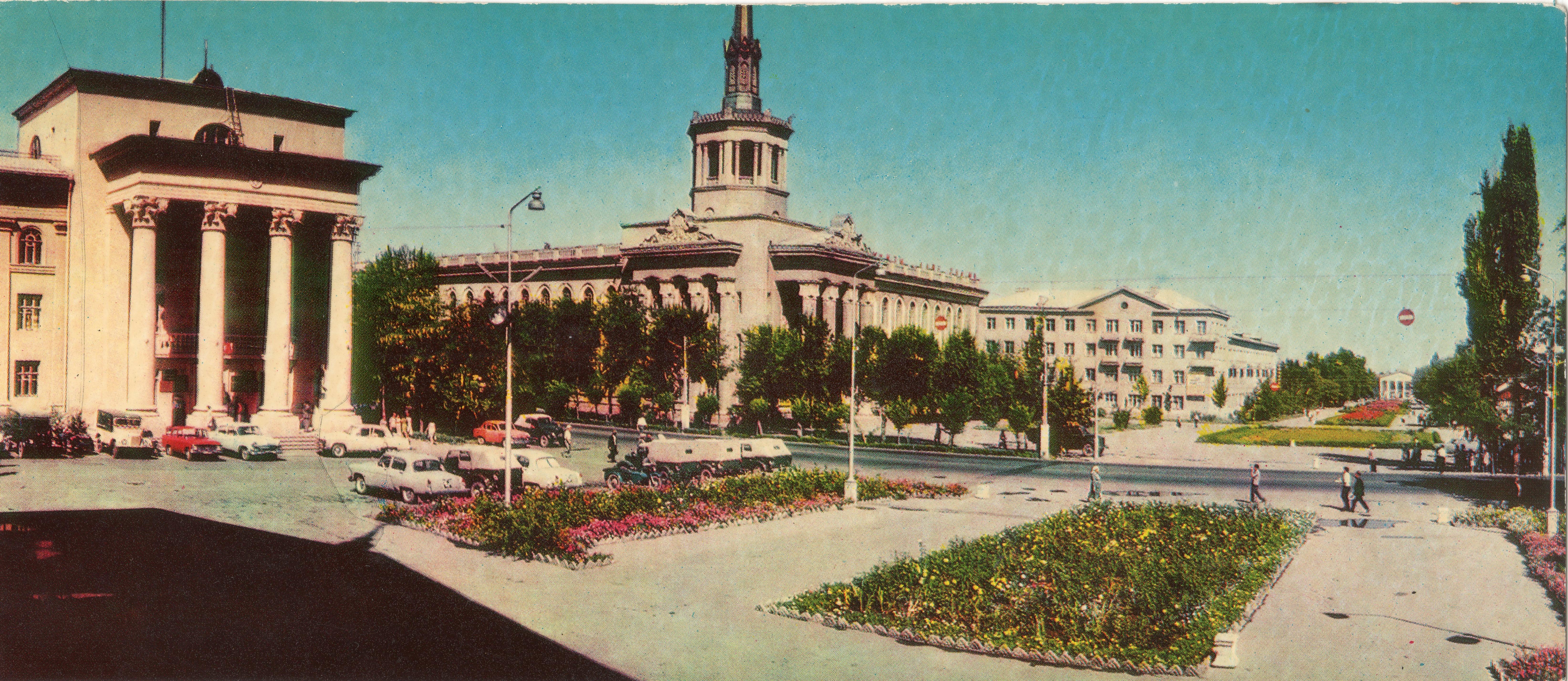 открытки город фрунзе