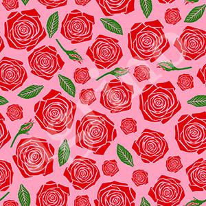 rose_pattern_green
