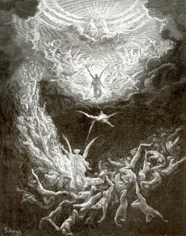 Гюстав-Доре--Иллюстрация-к-Библии--Страшный-суд