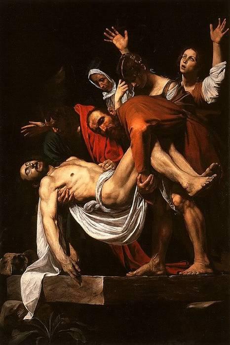 Караваджо Снятие с креста