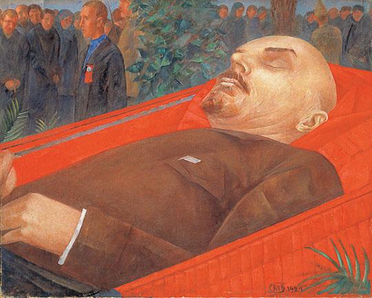 Петров-Водкин у Гроба ленина