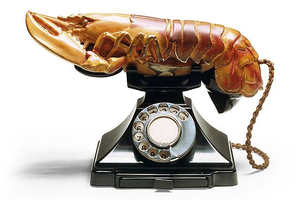 Телефон-омар Сальвадор Дали, 1936