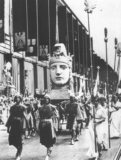 Открытие дома немецкого искусства 1937