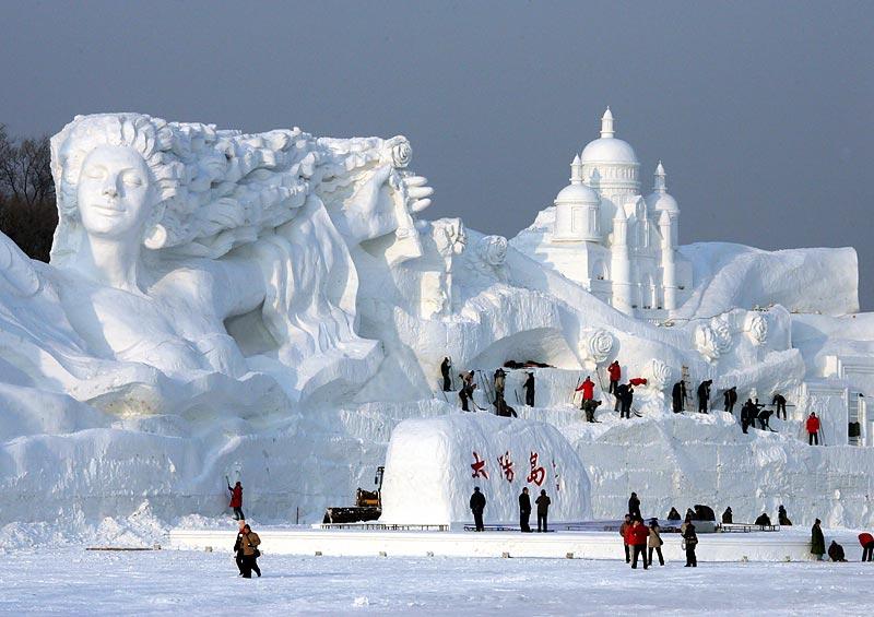 Харбин Снег