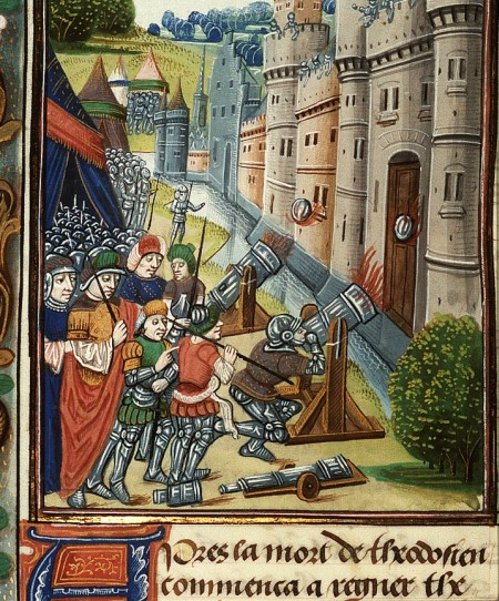 Захват кнстант Бургунск летпись 1250 иллюстр 1475