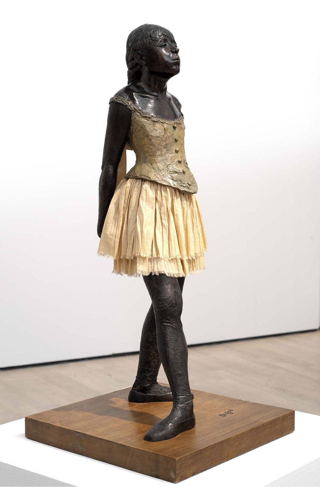 edgar degas - ballerina di 14 anni 1881