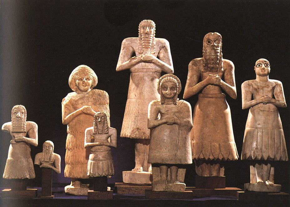 Статуи из Эшнуны