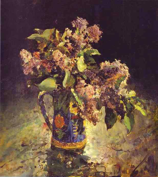3 Серов Сирень в вазе 1887
