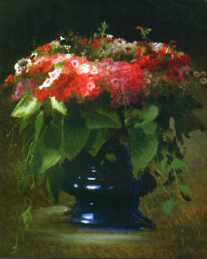 11 Крамской Букет цветов флоксы, 1884